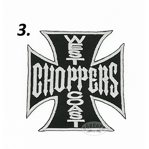 West Coast Choppers felvarró