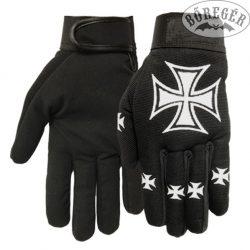 Iron cross gloves