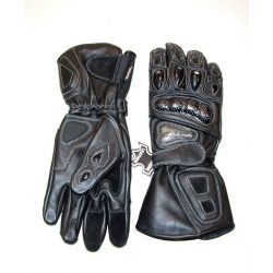Biker gloves with protector