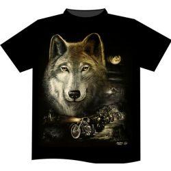 Wolf Night Riders póló