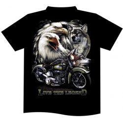 Eagles and Wolves póló