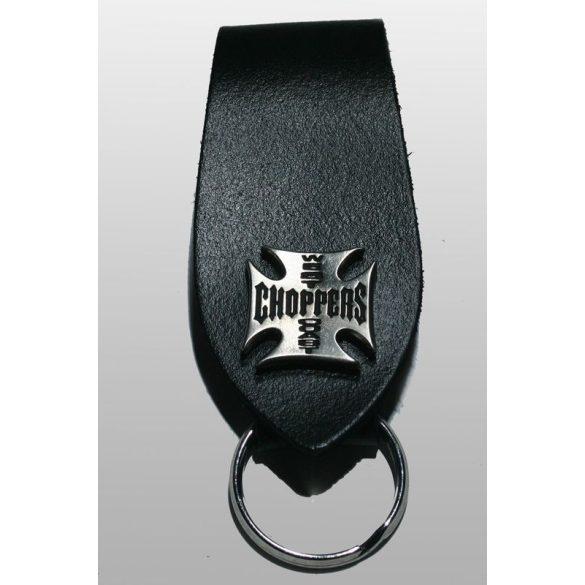 Chopperes kulcstartó