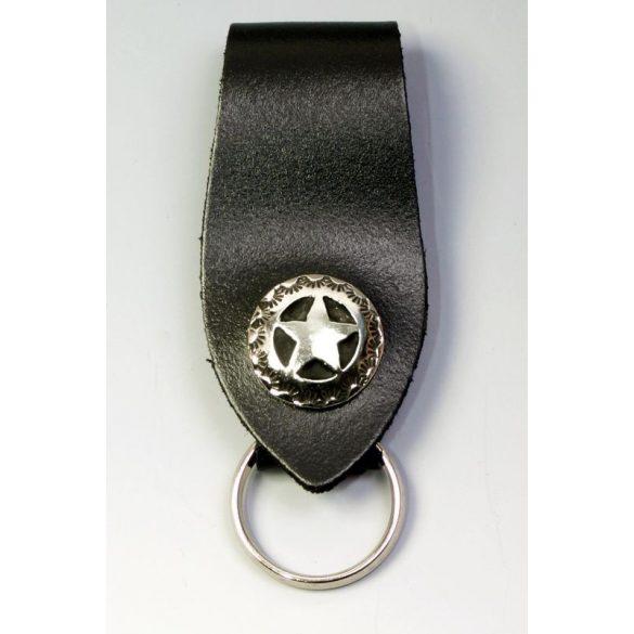 Sheriff-csillagos  kulcstartó