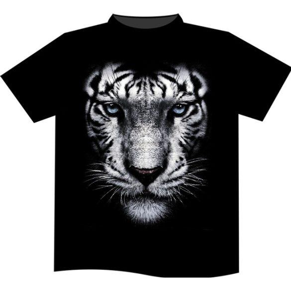 White Tiger Portrait póló