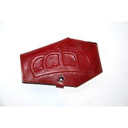 Domború bőr pénztárca