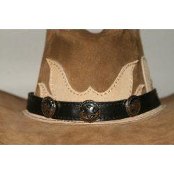 Sheriff-csillagos kalapdísz