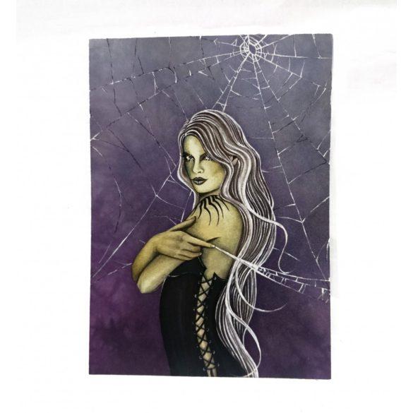 Póktündér képeslap