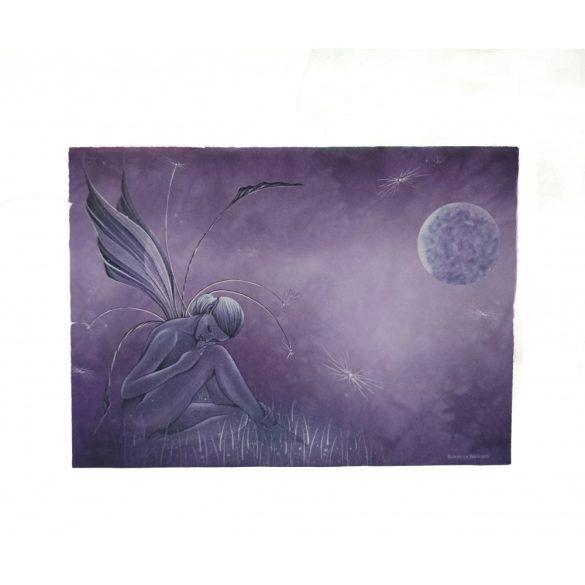 Pillangó tündér képeslap