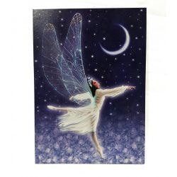 Táncoló tündér képeslap