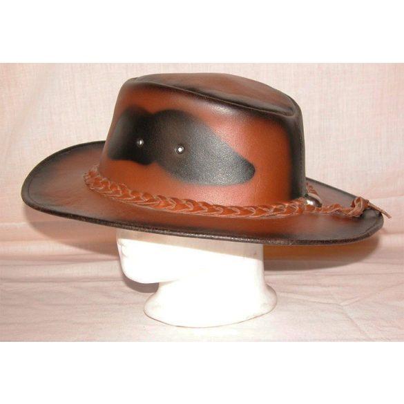 Valódi bőr kalap