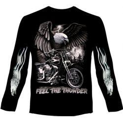 Feel The Thunder hosszú ujjú póló