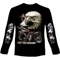 Feel The Thunder Eagle hosszú ujjú póló