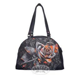 Izzó rózsás női táska