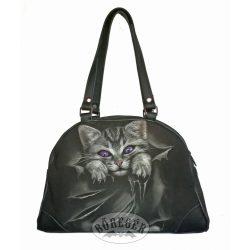 Macskás női táska