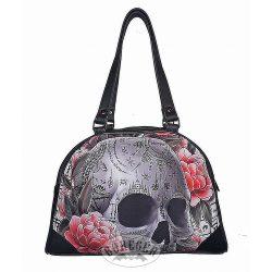 Nagy koponyás női táska