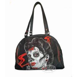 Mexikói cukorkoponya fejes női táska