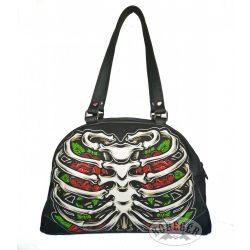 Borda csontos női táska