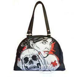 Koponyás női táska