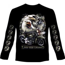 Eagles and Wolves hosszú ujjú póló