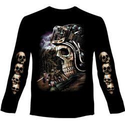 Skeleton Rider hosszú ujjú póló