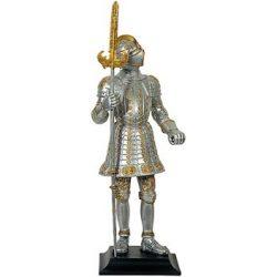 Knight sculpture