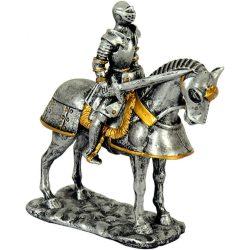 középkori lovag  lóháton