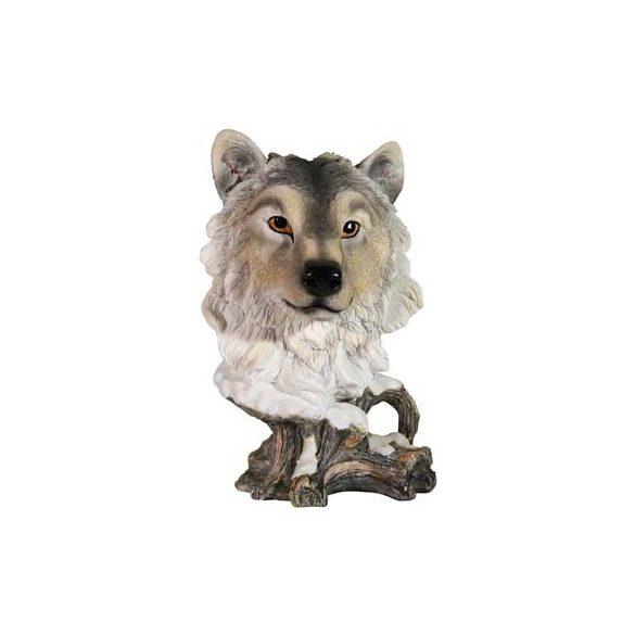 Farkas szobor (figura, térplasztika)(canis lupus)