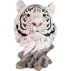 Fehér tigris szobor (figura, térplasztika)(panthera)