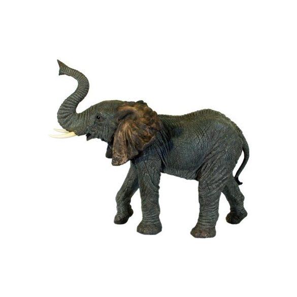 Elefánt szobor (figura, térplasztika)(loxodonta)