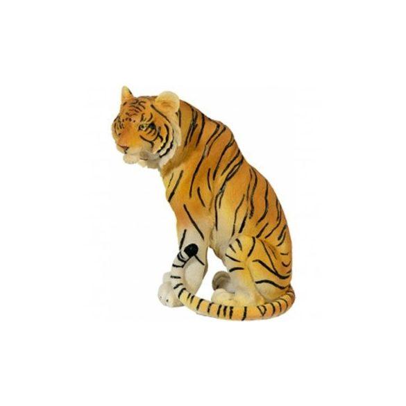 Ülő tigris szobor