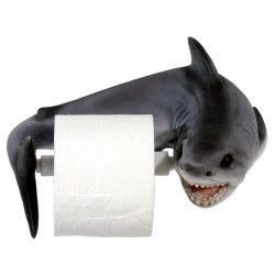 Cápás wc papír tartó