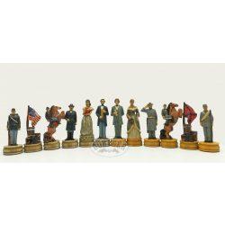 Amerikai polgárháborús sakkfigurák