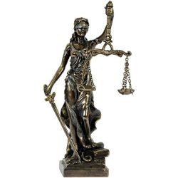 Justitia/Jusztícia szobor