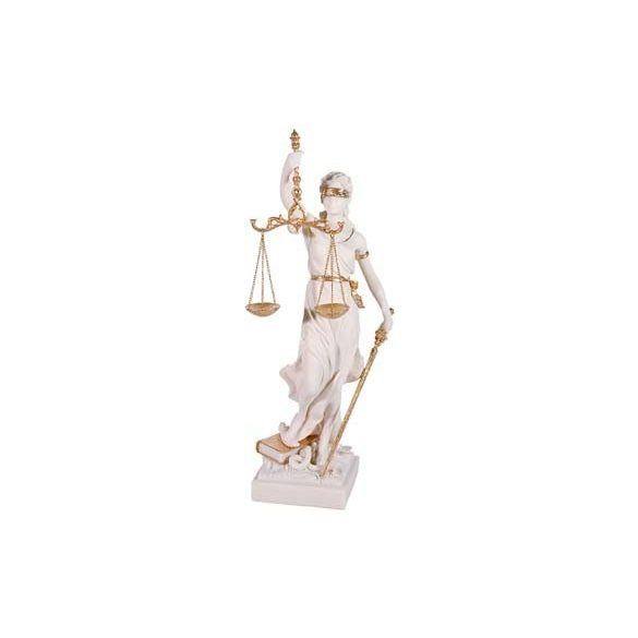 Justitia (Diké) szobor