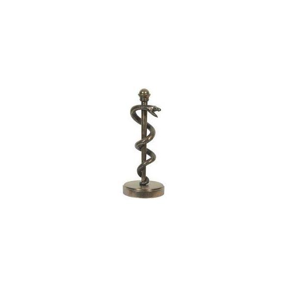 Asklepios rúdja/ Asklepiosstab/aesculapstab szobor