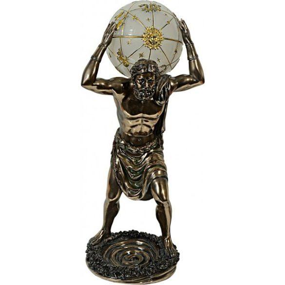 Atlasz/Atlas lámpa szobor