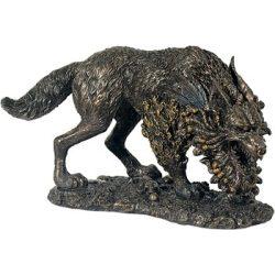Fenris farkas szobor