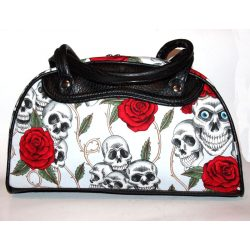 Skull and Roses hand bag