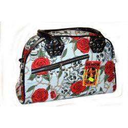 Skull and roses handbag/shoulderbag