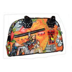 Dél-Amerikai/maya mintás női táska