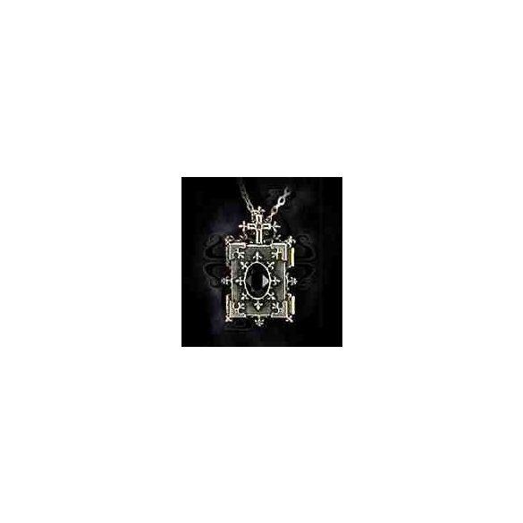 Ortodox ikon lakat- nyitható képtartós nyaklánc