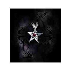 Kristály pentagram nyaklánc