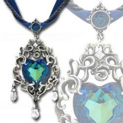 Eugénia gyémántja nyakék steampunk/viktoriánus stílusban