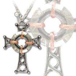 Szent Caillins kereszt nyaklánc