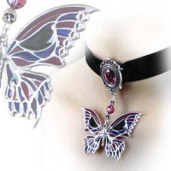 Deaths-Head Butterfly Choker