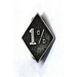 1% pin