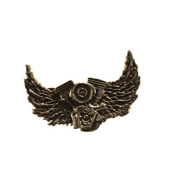 V-Blokk szárnyakkal jelvény