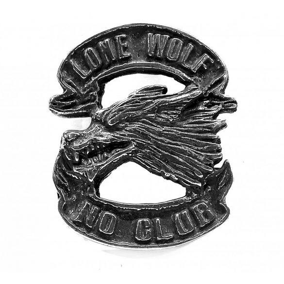Lone Wolf No Club jelvény