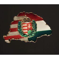 Nagy-Magyarország címerrel jelvény