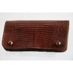 Varánuszbőr borítású pénztárca